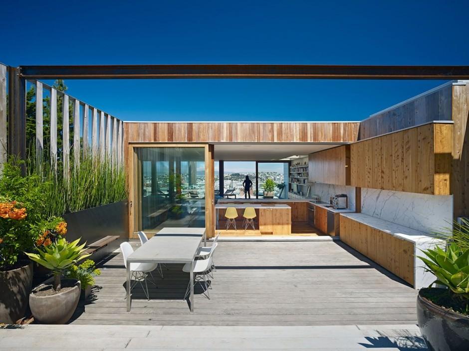 超開放的な住宅