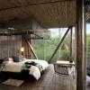 バリ風アジアンテイストなベッドルーム