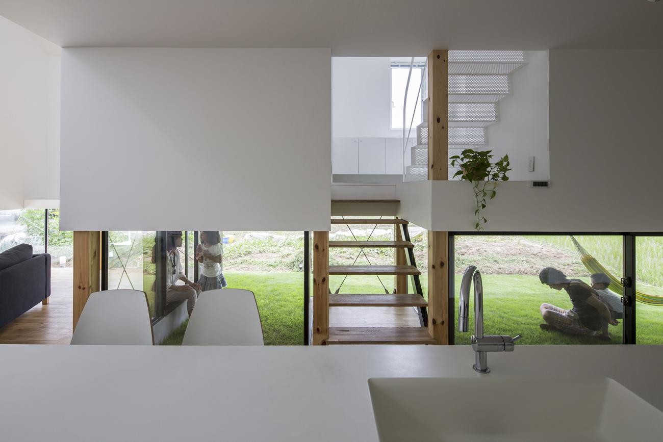 Home Design Ideas Buch: Nj�小住宅を広く見せるスキップフロアのアイディア12選