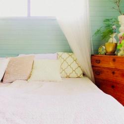 ニトリのベッドルーム