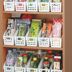 Storage technique that uses a 100 yen goods