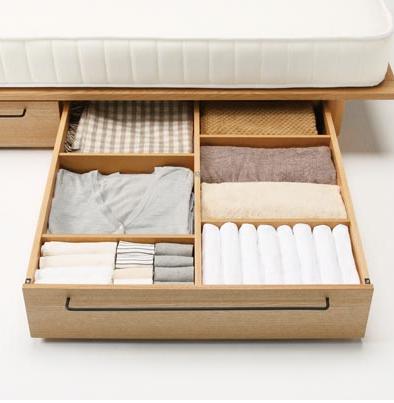 [ 無印良品 ] バーチ材ベッド下収納ボックス 5110520