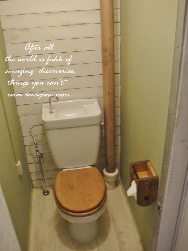 団地のトイレを劇的DIY