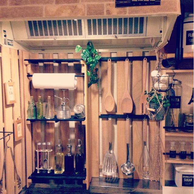 おしゃれにキッチンをDIY8選☆手に入りやすい素材で楽しくリフォーム