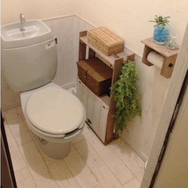 トイレをリフォーム☆8つのDIYがトイレを変えた!