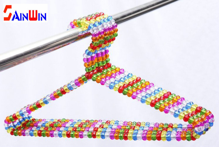 Sainwin-5pcs-lot-40cm-pearl-plastic-hanger-colorful-crystal-ball-beautiful-hangers-for-clothes-pegs-coat