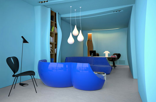 amazing-blue-interior-paint-4-blue-modern-office-interior-design-530-x-347