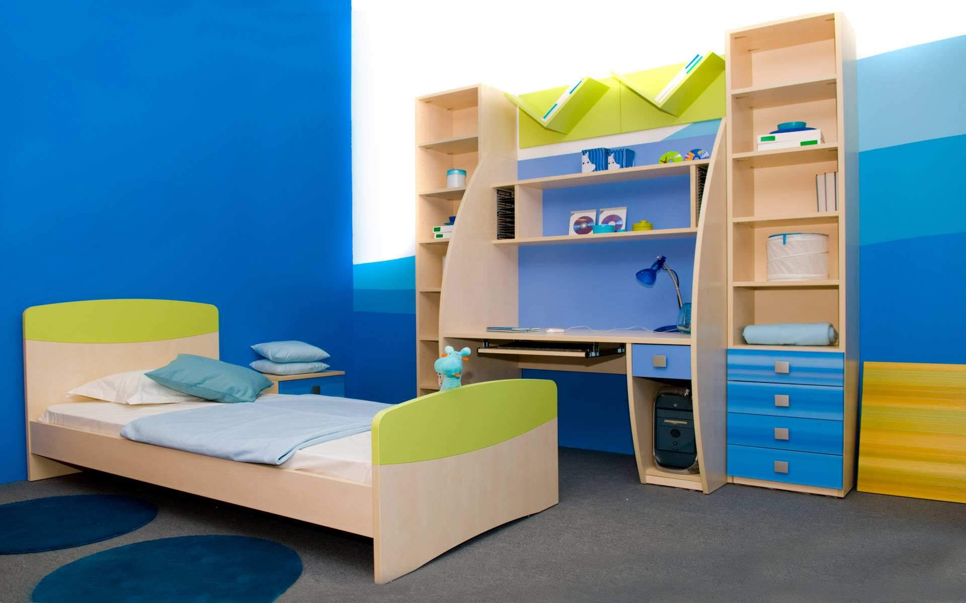 interior-inspiring-top-awesome-blue-interior-design-modern-blue-kids-bedroom-with-natural-study-desk-furniture_f926